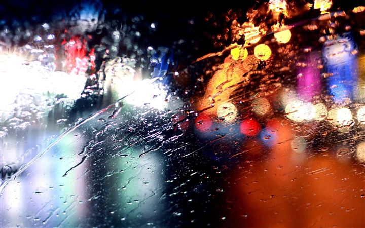 Rainy Windshield All Mac wallpaper