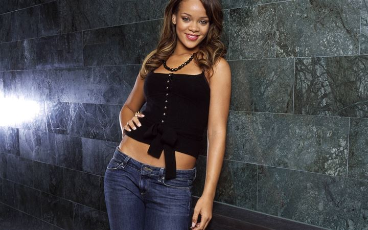 Rihanna women All Mac wallpaper