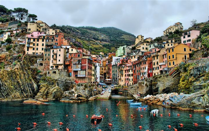 Riomaggiore Italy All Mac wallpaper