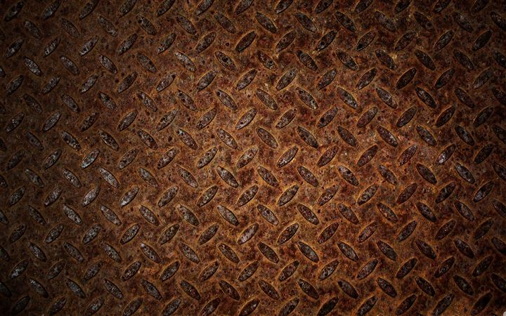 Rusted metal All Mac wallpaper