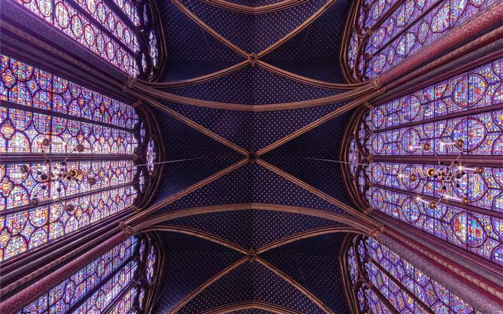 Saint Chapelle, Paris, Fr... All Mac wallpaper