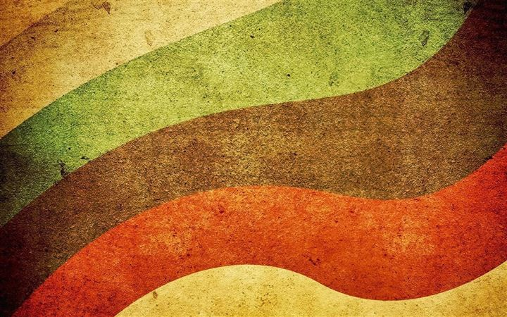 Sand Colorful Waves Retro All Mac wallpaper