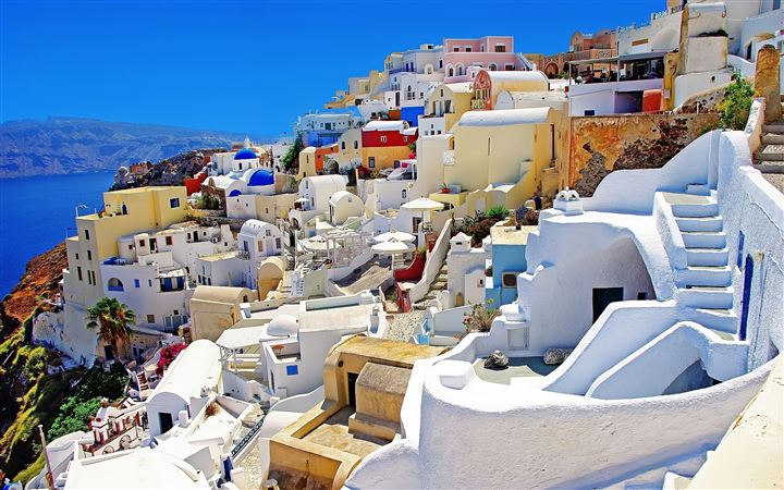 Santorini 0ia Greece All Mac wallpaper