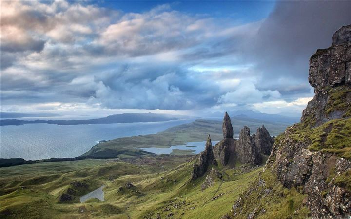 Skye Island Scotland All Mac wallpaper