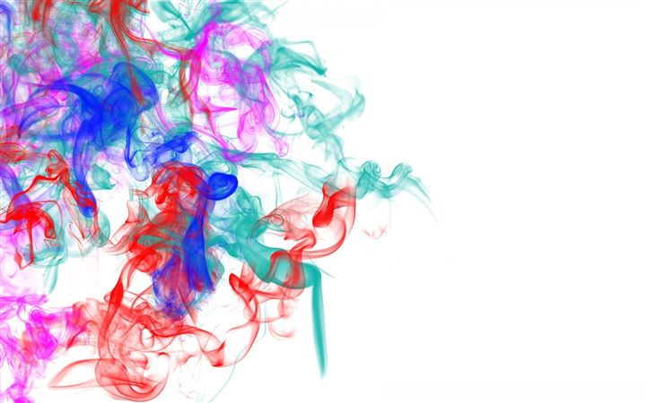 Smoke Patterns Lines Colorful All Mac wallpaper