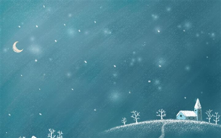 Snow Winter All Mac wallpaper