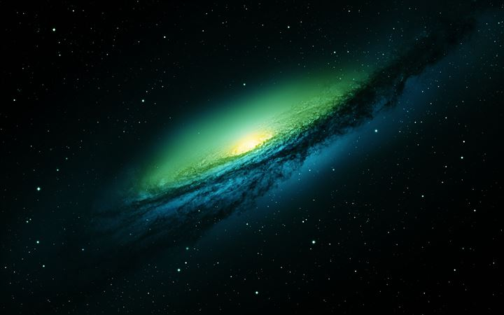 Spiral Galaxy World All Mac wallpaper