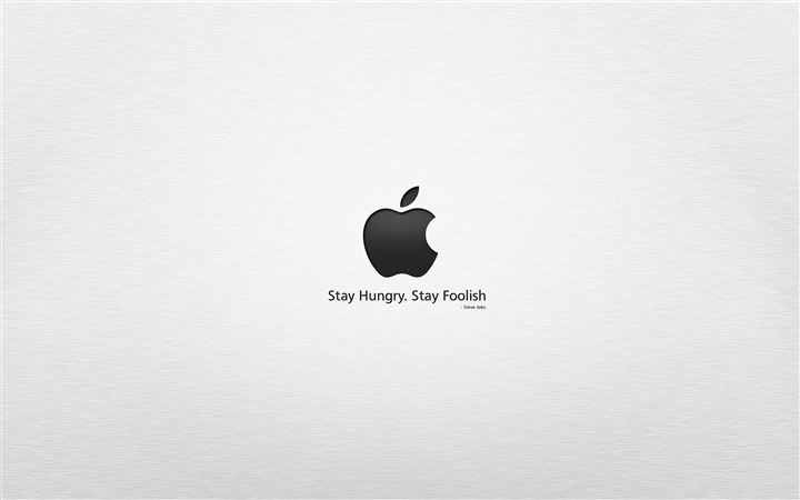 Stay hungry stay foolish MacBook Air wallpaper