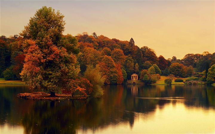 Stourhead Wiltshire England All Mac wallpaper