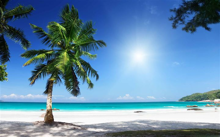 Sunny Beach MacBook Air wallpaper
