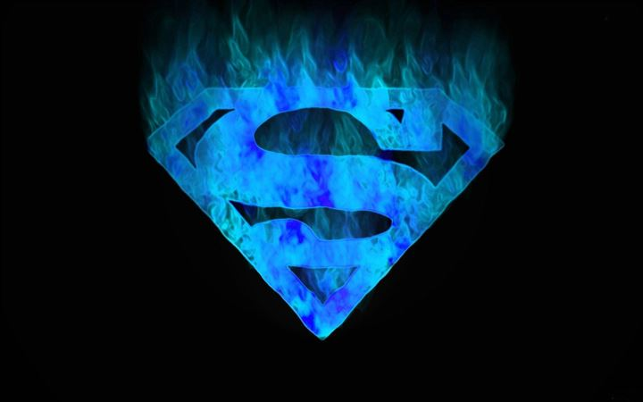 Superman logo All Mac wallpaper