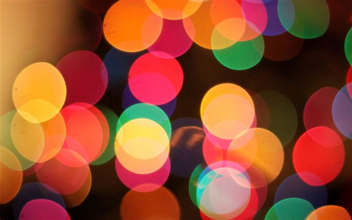 The First Bokeh Of Christmas All Mac wallpaper
