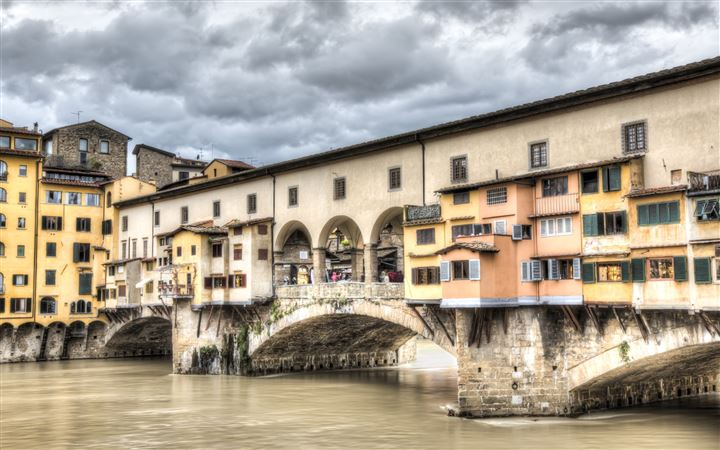 The Ponte Vecchio Florence All Mac wallpaper