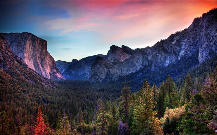 The Yosemite Valley All Mac wallpaper