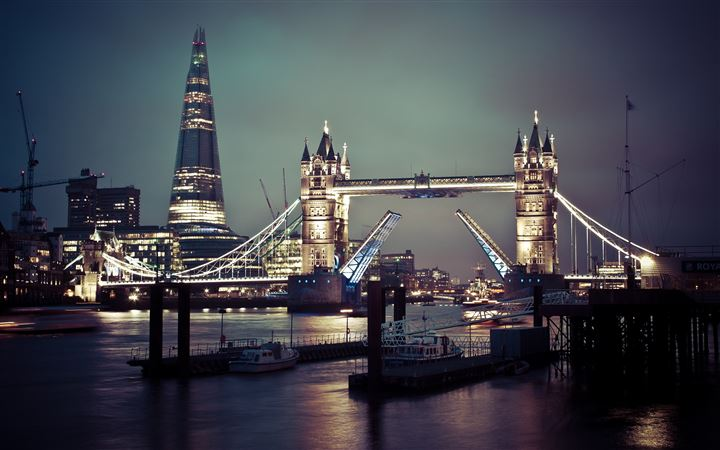 Tower Bridge Of London MacBook Air wallpaper