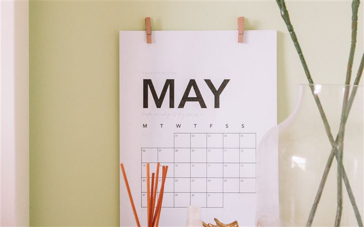 Welcome May. All Mac wallpaper