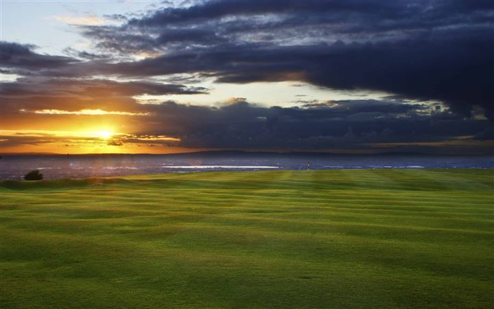 Worneth Low Golf Course All Mac wallpaper