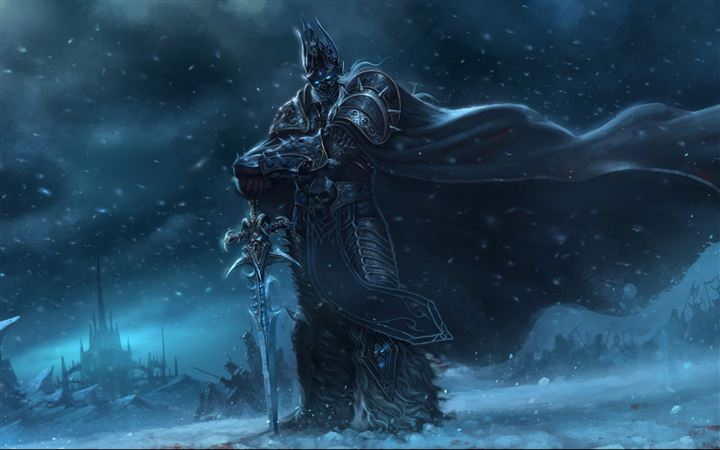 Wow Lich King All Mac wallpaper