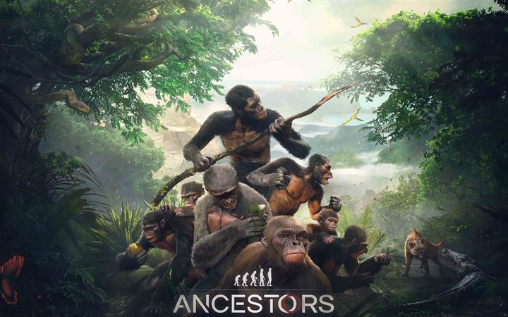 ancestors the humankind odyssey MacBook Air wallpaper