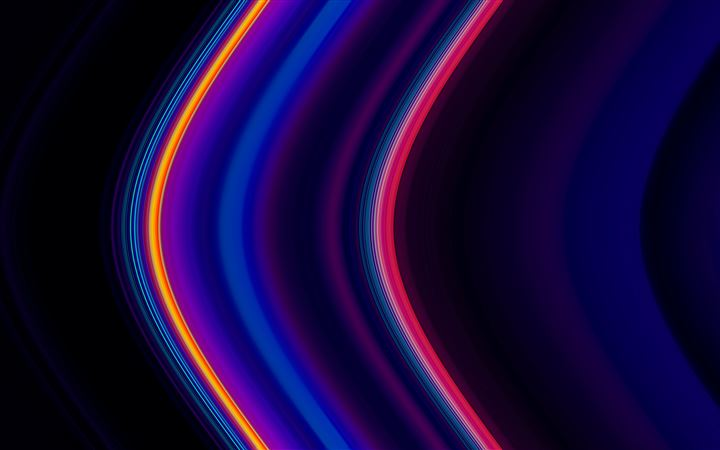 color lines pipes 4k All Mac wallpaper