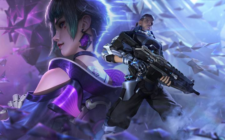 cyber hunter 5k All Mac wallpaper