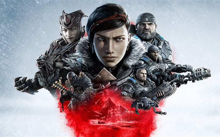 gears 5 5k All Mac wallpaper