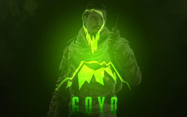 goyo tom clancys rainbow six siege 5k All Mac wallpaper