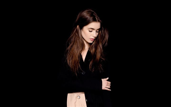 lily collins the observer photoshoot All Mac wallpaper