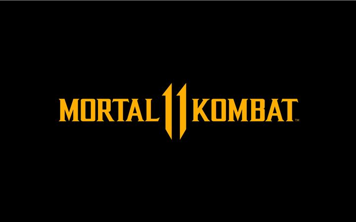 mortal kombat 11 logo dark black 8k All Mac wallpaper