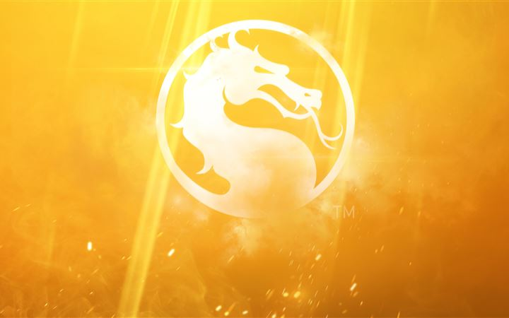 mortal kombat 11 logo MacBook Air wallpaper