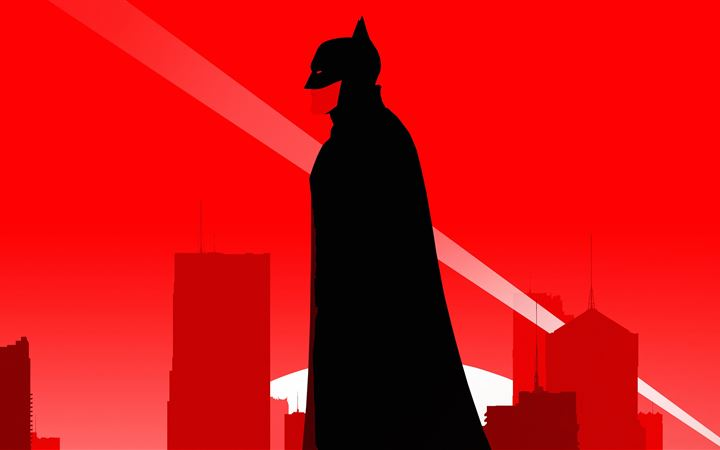 the batman robert pattinson minimal poster 5k All Mac wallpaper