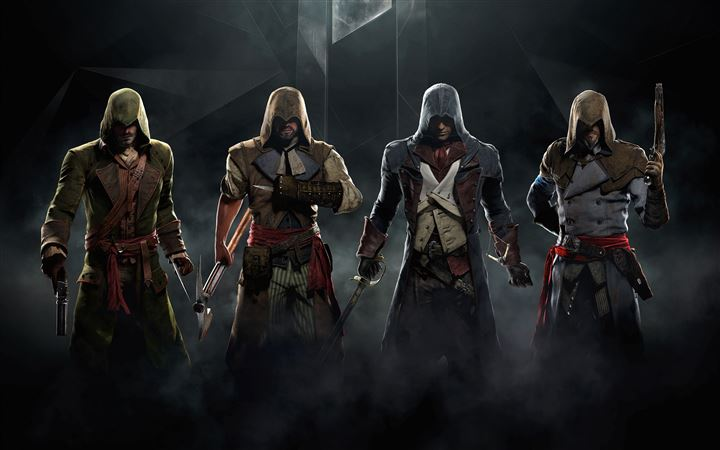 Assassin's Creed MacBook Pro wallpaper