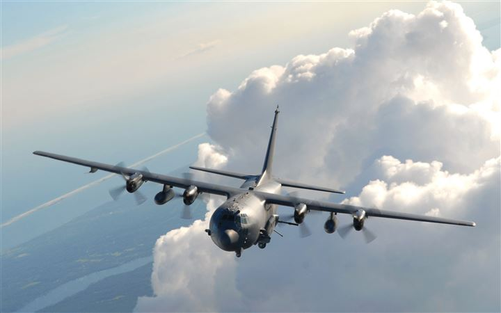 Lockheed Ac 130 MacBook Pro wallpaper