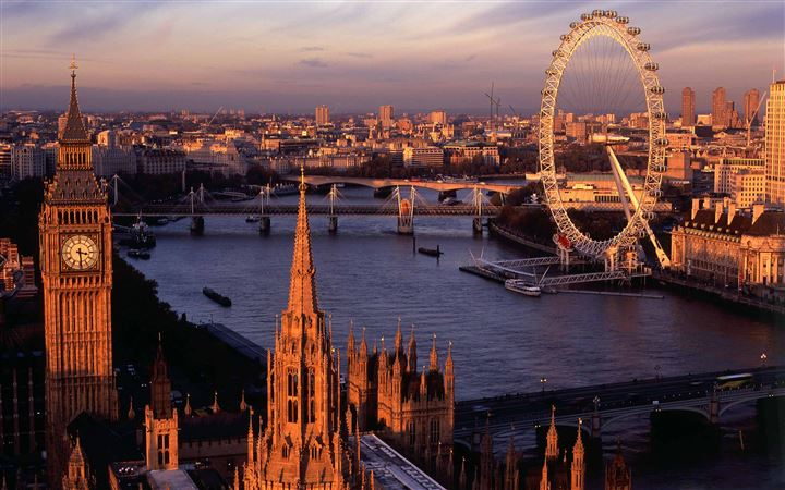 London Panorama MacBook Pro wallpaper