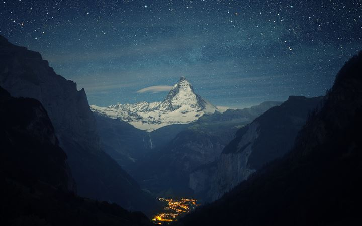 Matterhorn MacBook Pro wallpaper