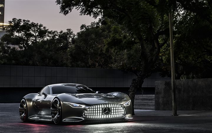 Mercedes Benz Vision Gran Turismo Evening MacBook Pro wallpaper