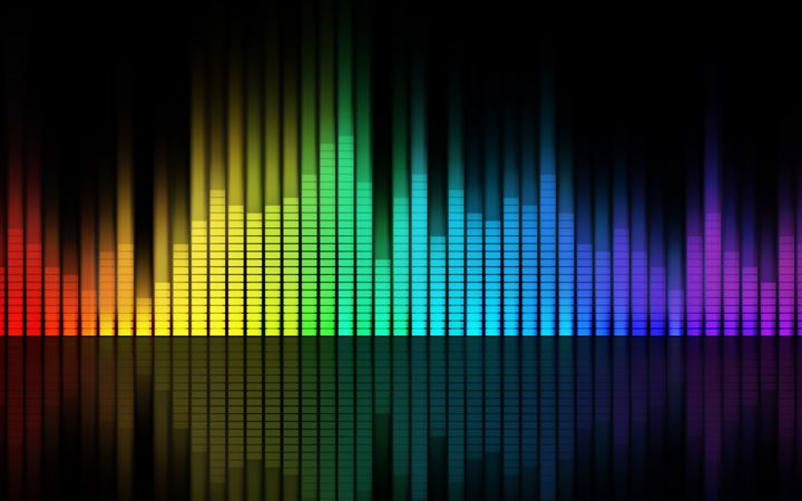 Music Equalizer MacBook Pro wallpaper