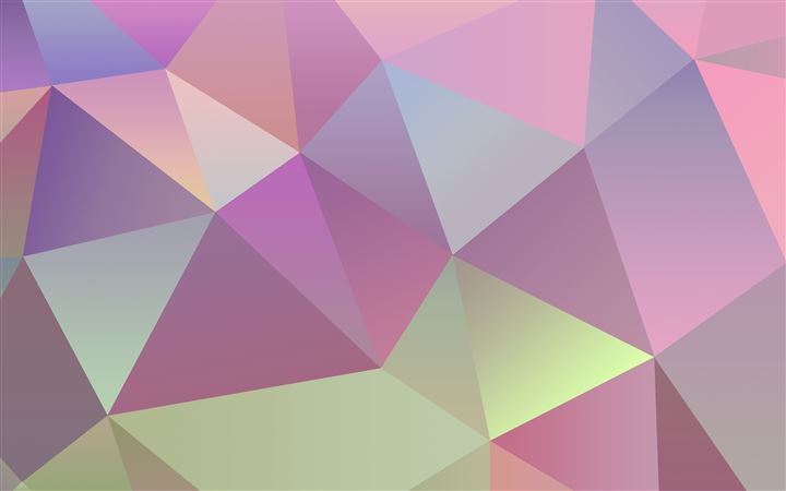 Pastel Polygon Vector MacBook Pro wallpaper