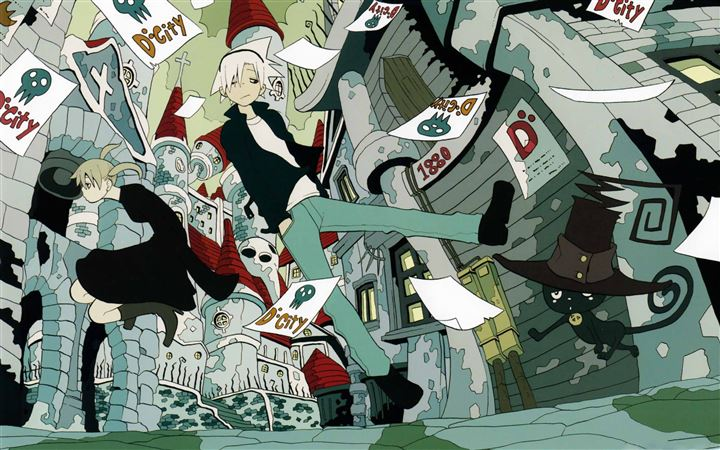 Soul Eater MacBook Pro wallpaper