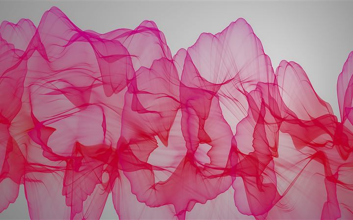abstract pink ribbon 4k MacBook Pro wallpaper