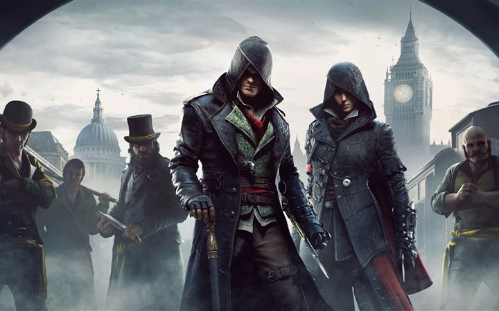 assassins creed syndicate 10k MacBook Pro wallpaper