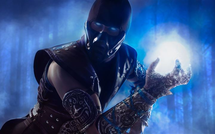 mortal kombat cosplay MacBook Pro wallpaper