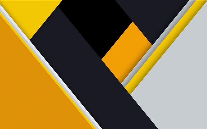 yellow material design abstract 8k MacBook Pro wallpaper