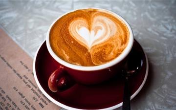 Coffee Heart  Mac wallpaper