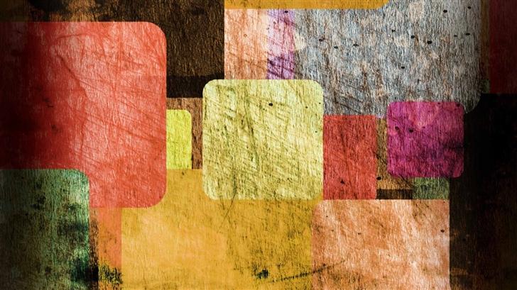 Colored Rectangles Mac Wallpaper