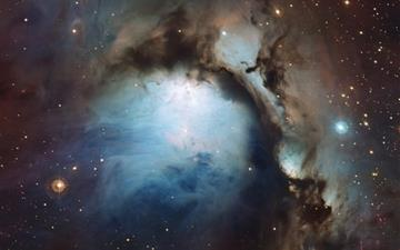 Blue Hole Nebula Mac wallpaper