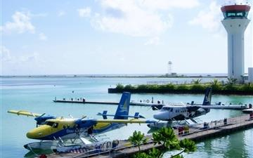 Maldives Airport All Mac wallpaper