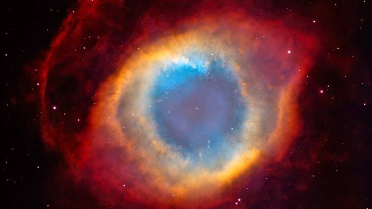 Eye Of God Nebula Mac Wallpaper