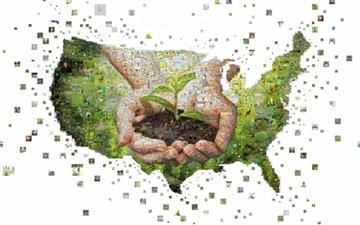 Green United States Of America Mac wallpaper