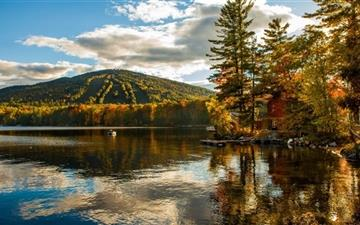 New England Fall Foliage Mac wallpaper